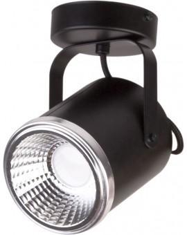 Lampa Plafon Flesz GU10 z żarówką 1 czarny 32669 Sigma