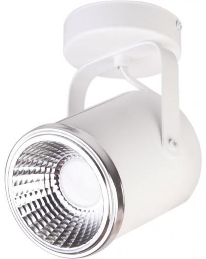 Lampa Plafon Flesz GU10 z żarówką 1 biały 32675 Sigma