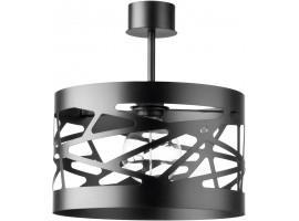 Deckenlampe Deckenleuchte Modern Design Metall Modul Frez M Schwarz 31233