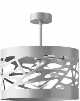 Deckenlampe Deckenleuchte Modern Design Metall Modul Frez L Grau 31238