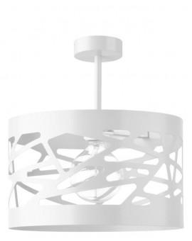 Deckenlampe Deckenleuchte Modern Design Metall Modul Frez L Weiß 31234