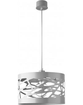 Deckenlampe Hängelampe Modern Design Metall Modul Frez M Grau 31237