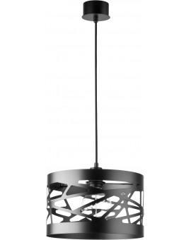 Deckenlampe Hängelampe Modern Design Metall Modul Frez M Schwarz 31074