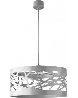 Deckenlampe Hängelampe Modern Design Metall Modul Frez L Grau 31236