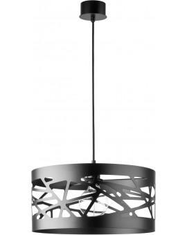 Deckenlampe Hängelampe Modern Design Metall Modul Frez L Schwarz 31073