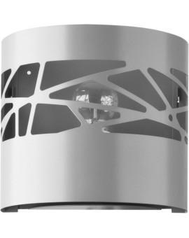 Wandlampe Wandleuchte Modern Design Metall Modul Frez Grau 31243