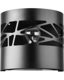 Wandlampe Wandleuchte Modern Design Metall Modul Frez Schwarz 31078