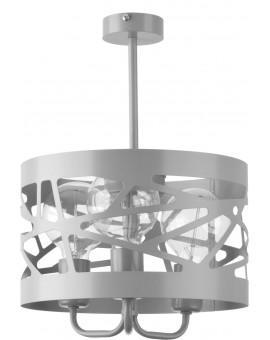 Deckenlampe Kronleuchter Modern Design Metall Modul Frez 3 Grau 31240