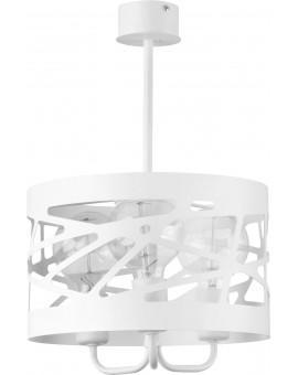 Deckenlampe Kronleuchter Modern Design Metall Modul Frez 3 Weiß 31081