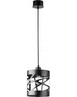 Deckenlampe Hängelampe Modern Design Metall Modul Frez S Schwarz 31208