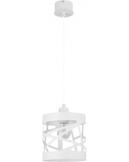 Deckenlampe Hängelampe Modern Design Metall Modul Frez S Weiß 31047