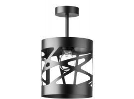 Deckenlampe Deckenleuchte Modern Design Metall Modul Frez S Schwarz 31213
