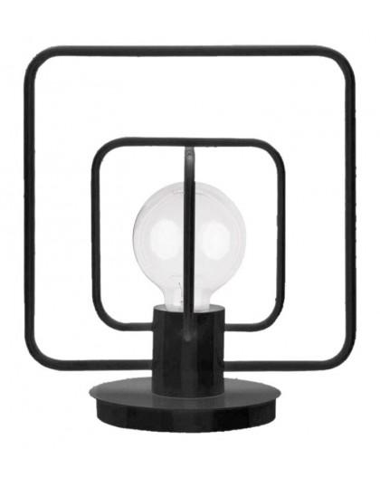 Table lamp Aura kwadrat black połysk 50082 Sigma