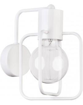 Wandlampe Wandleuchte Modern Design Aura Quadrat Weiß Glanz 31127