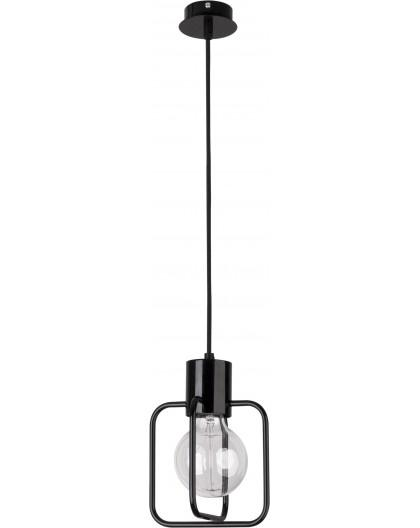 Hanging lamp Aura kwadrat 1 black połysk 31110 Sigma