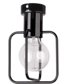 Lampa Plafon Aura kwadrat 1 czarny 31113 Sigma