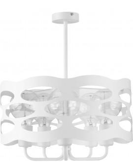Lampa Żyrandol Moduł rol 5 biały 31070 Sigma