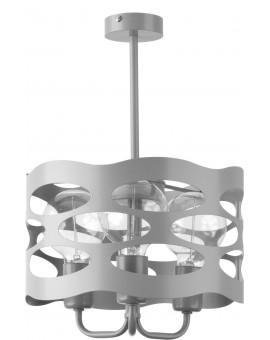 Lampa Żyrandol Moduł rol 3 szary 31228 Sigma