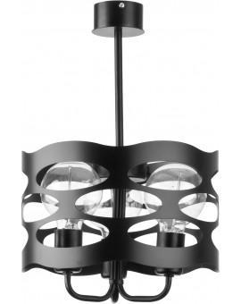 Lampa Żyrandol Moduł rol 3 czarny 31063 Sigma