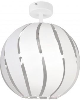 Lampa Plafon Globus skos 1 L biały 31314 Sigma