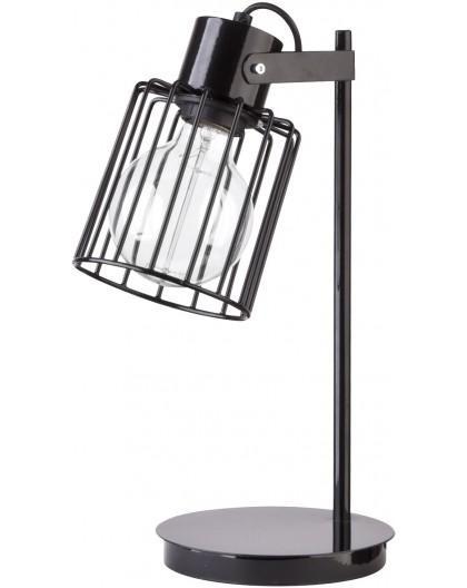 Table lamp Luto kwadrat black połysk 50084 Sigma