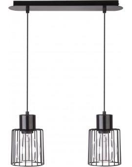 Lampa Zwis Luto kwadrat 2 czarny 31133 Sigma