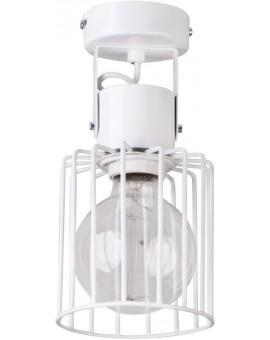 Ceiling lamp Luto kwadrat 1 white połysk 31146 Sigma