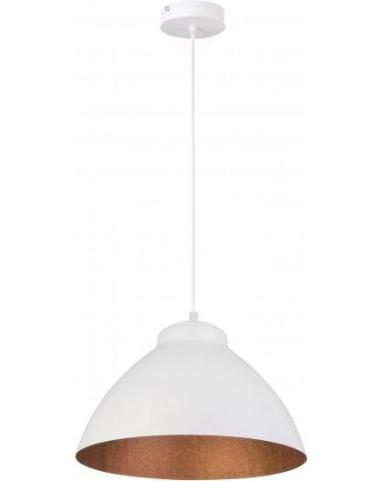 Lampa Zwis Mila M biały miedziany 31382 Sigma