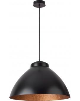 Lampa Zwis Mila L czarny miedziany 31376 Sigma