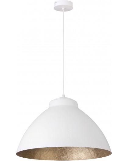 Lampa Zwis Mila L biały złoty 31377 Sigma