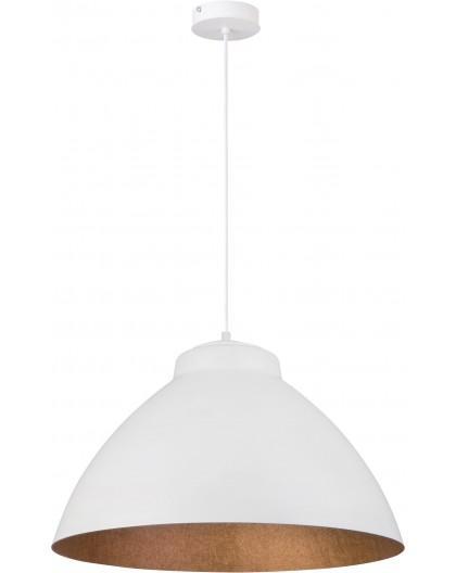 Lampa Zwis Mila L biały miedziany 31378 Sigma