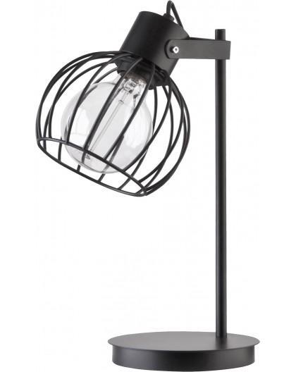 Table lamp Luto round black mat 50086 Sigma