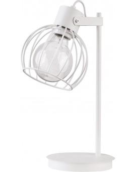 Table lamp Luto round white połysk 50087 Sigma