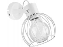 Wall lamp Luto round white połysk 31171 Sigma