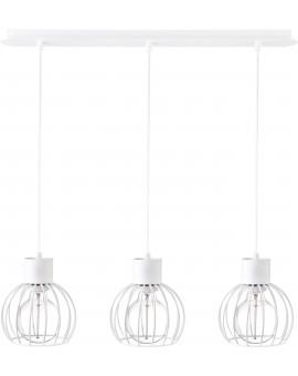 Hanging lamp Luto round 3 white mat 31167 Sigma