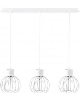 Lampa Zwis Luto koło 3 biały mat 31167 Sigma
