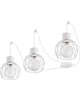Hanging lamp Luto round 3 white mat 31162 Sigma