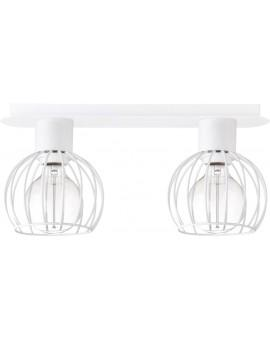 Ceiling lamp Luto round 2 white mat 31169 Sigma