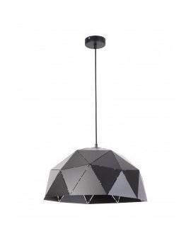 Deckenlampe Hängelampe Design Modern Muster Lichteffekt ORIGAMI Schwarz S 31612