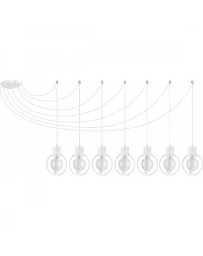Lampa Zwis Aura koło 7 biały mat 31098 Sigma