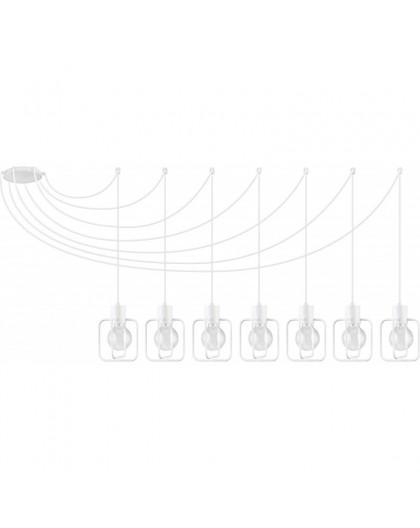 Lampa Zwis Aura kwadrat 7 biały połysk 31120 Sigma