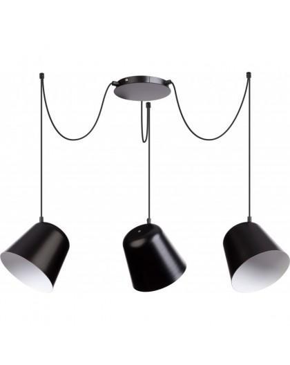 Lampa Zwis podwieszany Jawa 3 czarny 31387 Sigma