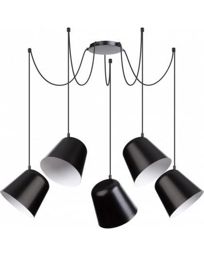 Lampa Zwis podwieszany Jawa 5 czarny 31388 Sigma