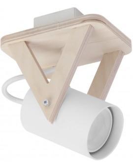 Lampa sufitowa Plafon  OSKAR WENGE 3Pł Sigma 13106