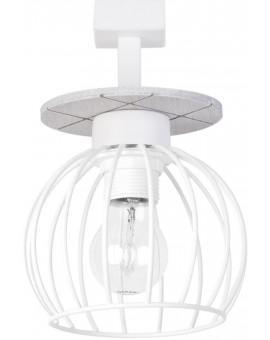 Lampe Deckenlampe Deckenleuchte WISTA Weiß 1 31623