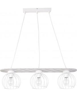 Hanging lamp WISTA white 3 31629 SIGMA