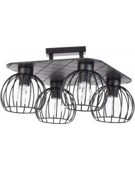 Ceiling lamp WISTA black 4 31634 SIGMA