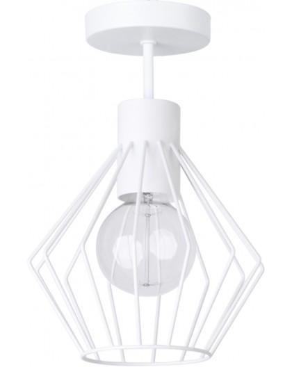 Deckenlampe Deckenleuchte Draht Lampe Modern Design VIKI weiß 31765
