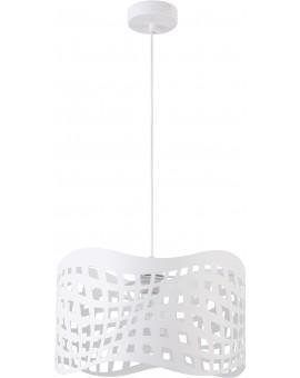 Hängelampe Deckenlampe Modern Modern Design SOPOT L weiß 31721