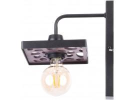 Wall Lamp retro vintage style MAGNUM STONE Rectangle Black 31733 SIGMA